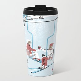 Ski Lift Metal Travel Mug