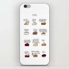 Waitress Pies iPhone & iPod Skin