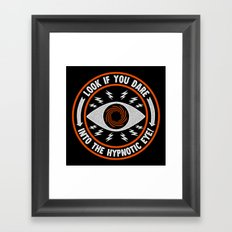 Hypnotic Eye Framed Art Print
