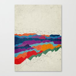 Landscape on Mars Canvas Print