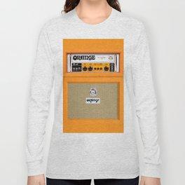 Bright Orange color amplifier amp Long Sleeve T-shirt