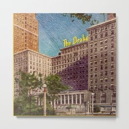 The Drake Chicago Metal Print