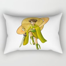 Saturn Princess (Revision) Rectangular Pillow