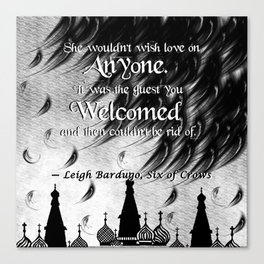 Six of Crows - Leigh Bardugo Canvas Print