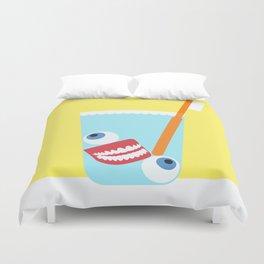 Tooth Brush Duvet Cover