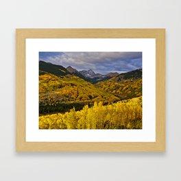 Aspen Sunrise, Colorado Framed Art Print