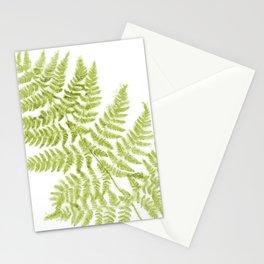 Fresh Fern Modern Botanical Stationery Cards