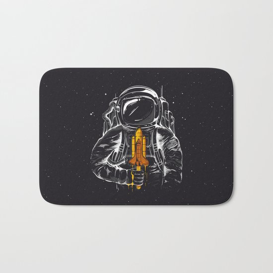 Space Popscicle Bath Mat
