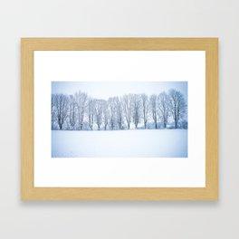 Enneigée Framed Art Print