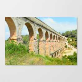 Ancient Roman Aqueduct Canvas Print