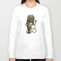 demon Long Sleeve T-shirts featuring Demon by Tim Maclean