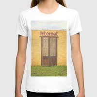 internet T-shirts featuring Internet by Nina's clicks