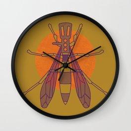 Dragon-fly headshell Wall Clock