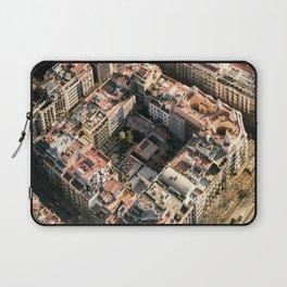 Apartment Block in Barcelona Laptop Sleeve