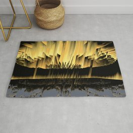 Against an asteroid attack Rug