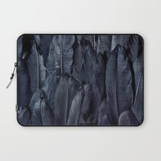 Black Feather Laptop Sleeve