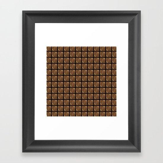 Chocoholic! Framed Art Print