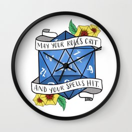 May Your Rolls Crit and Your Spells Hit Wall Clock