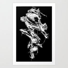 flesh character  Art Print