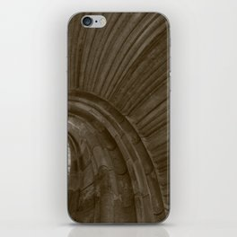 Sand stone spiral staircase 5 iPhone Skin