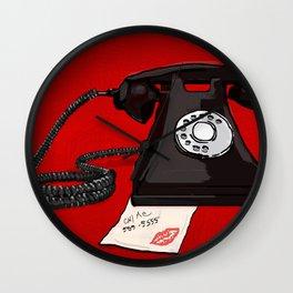 Late Call  Wall Clock