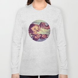 Stopping by the Shore at Uke Long Sleeve T-shirt