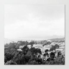 San Francisco Cityscape No. 2 Canvas Print