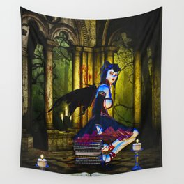 Dark Fairy Wall Tapestry