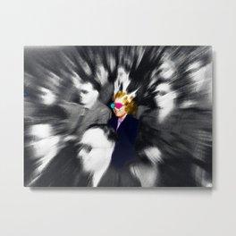 Laughing Girl At The Movies Metal Print