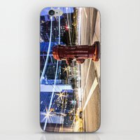 the lights iPhone & iPod Skins featuring Lights by Justin Forster Photo