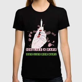 Stoner Barbie Woman Weed Smokers Gifts T-shirt