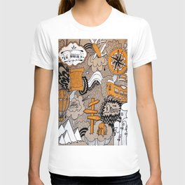 The Journey Is Part Of The Dream  T-shirt