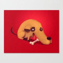 Poorly designed creatures # 1 Canvas Print