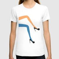 legs T-shirts featuring legs by ladina steinegger