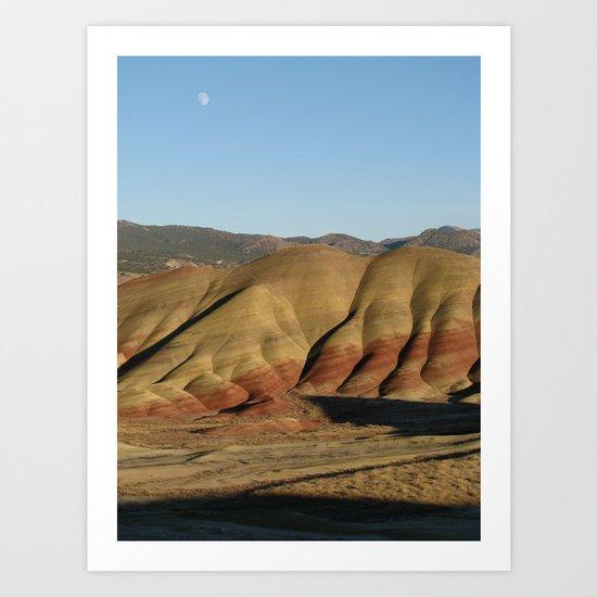 The Painted Hills I Art Print