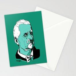 Anton Bruckner Composer contemporary of Wagner Brahms Mahler Ink Portrait Music Organ Art Stationery Cards