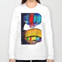 daft punk Long Sleeve T-shirts featuring Daft Punk by Archan Nair