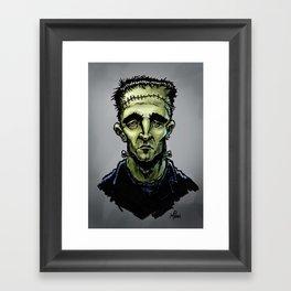 Frankenscott Framed Art Print