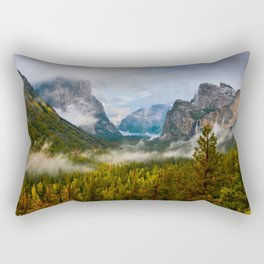 Yosemite National Park / Tunnel View  4/26/15 Rectangular Pillow