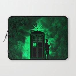 tardis doctor who Laptop Sleeve