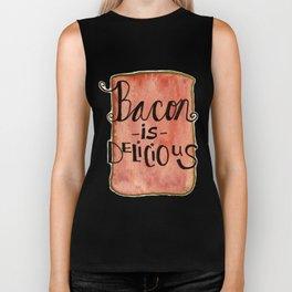 Bacon is Delicious Biker Tank