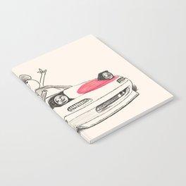 Crazy Car Art 0167 Notebook