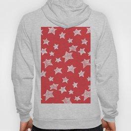 Christmas stars pattern Hoody