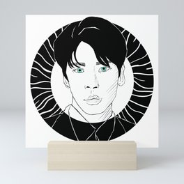 Jonghyun Mini Art Print
