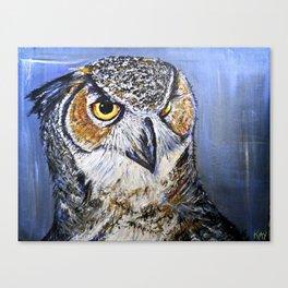 what a hoot Canvas Print