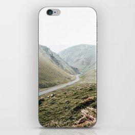 view of Winnats Pass iPhone Skin