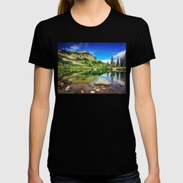 Clear Mountain Lake Reflections T-shirt