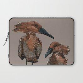 Hamerkop Bird Laptop Sleeve