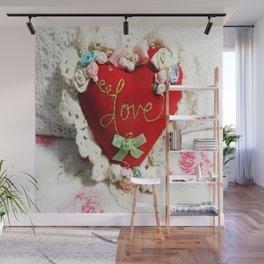 Heart of Love Wall Mural