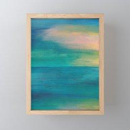 Ocean Sunrise Series, 3 Framed Mini Art Print